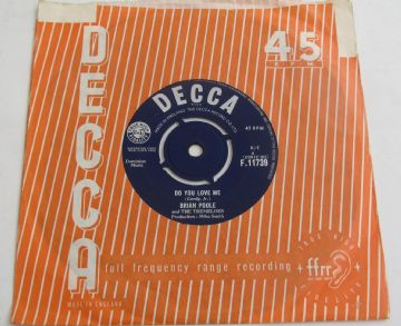 "Brian poole And The Tremeloes DO YOU LOVE ME 1963 UK 7"" EX+ AUDIO"